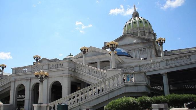 Bầu cử Mỹ: Động thái lạ ở bang Pennsylvania - Ảnh 1.
