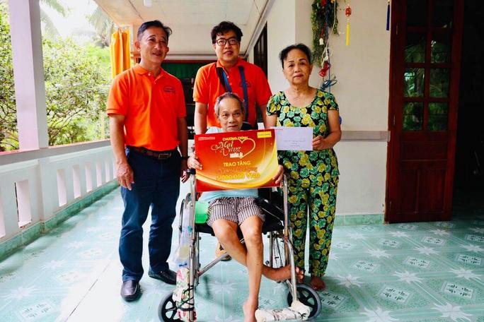 Mai Vàng nhân ái thăm NSND Thảo Vân và nghệ sĩ hài Vũ Quang tại Bến Tre - Ảnh 6.