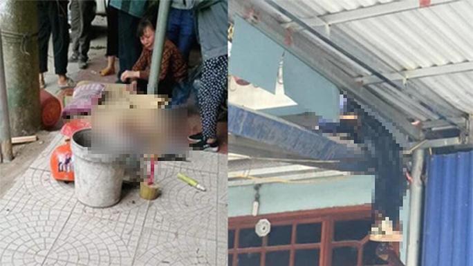 Mượn ôtô đi ăn tiệc tông 2 bố con tử vong, người con văng lên mái nhà bên đường - Ảnh 1.