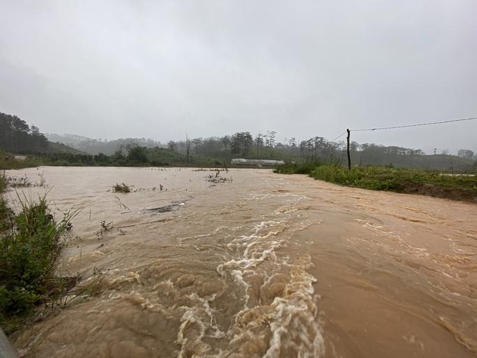 Lâm Đồng: Nước lũ cuốn trôi 4 du khách, 2 người mất tích - Ảnh 4.