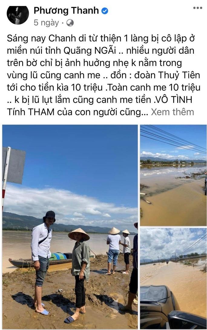 Cơ quan chức năng Quảng Ngãi sẽ làm việc với ca sĩ Phương Thanh - Ảnh 1.