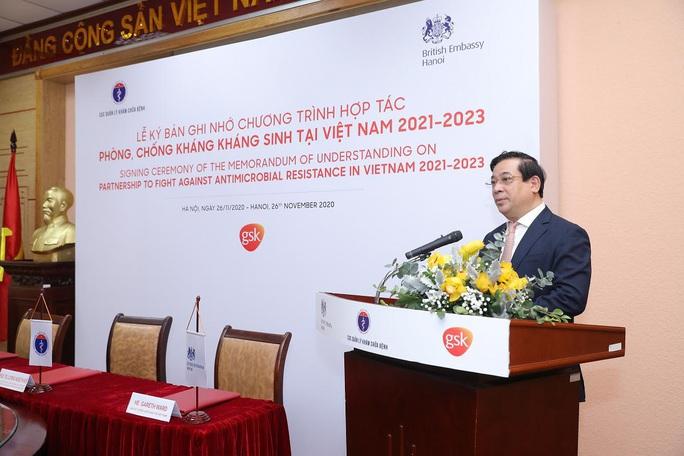 Hợp tác phòng, chống kháng kháng sinh tại Việt Nam - Ảnh 1.