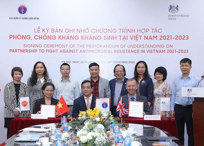 Hợp tác phòng, chống kháng kháng sinh tại Việt Nam - Ảnh 2.