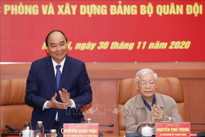 Tổng Bí thư, Chủ tịch nước Nguyễn Phú Trọng chủ trì Hội nghị Quân ủy Trung ương - Ảnh 7.