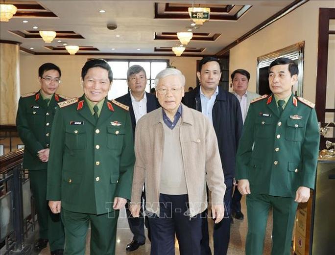 Tổng Bí thư, Chủ tịch nước Nguyễn Phú Trọng chủ trì Hội nghị Quân ủy Trung ương - Ảnh 2.