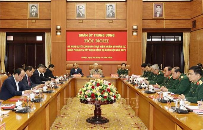 Tổng Bí thư, Chủ tịch nước Nguyễn Phú Trọng chủ trì Hội nghị Quân ủy Trung ương - Ảnh 8.