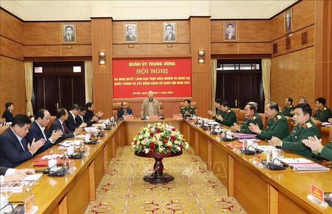 Tổng Bí thư, Chủ tịch nước Nguyễn Phú Trọng chủ trì Hội nghị Quân ủy Trung ương - Ảnh 9.