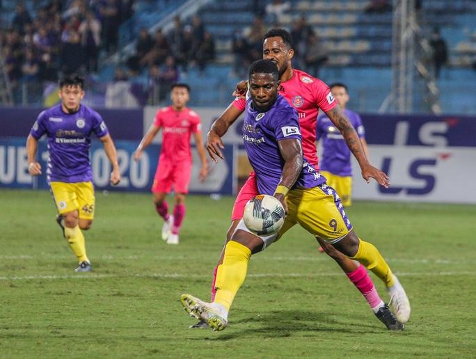 Thua Hà Nội FC, Sài Gòn FC bị loại khỏi cuộc đua vô địch V-League 2020 - Ảnh 1.