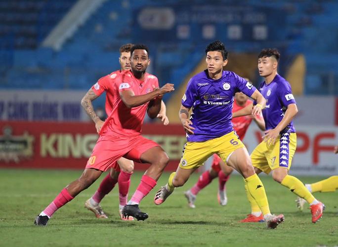 Thua Hà Nội FC, Sài Gòn FC bị loại khỏi cuộc đua vô địch V-League 2020 - Ảnh 4.