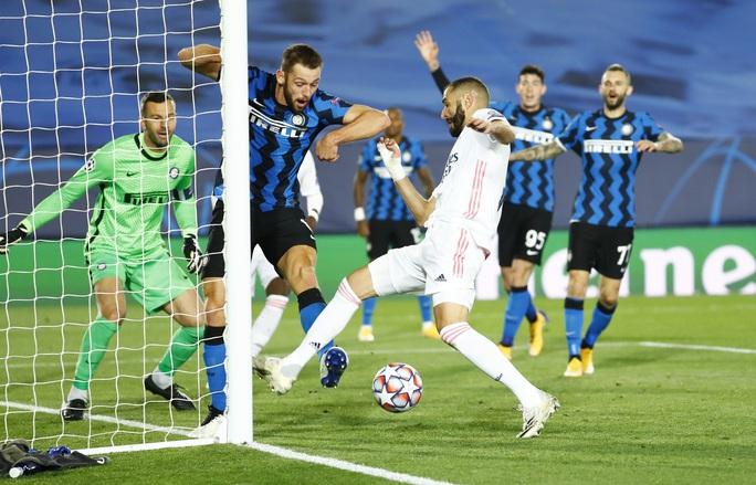 Rượt đuổi tỉ số ở đại chiến, Real Madrid chật vật hạ Inter Milan - Ảnh 1.