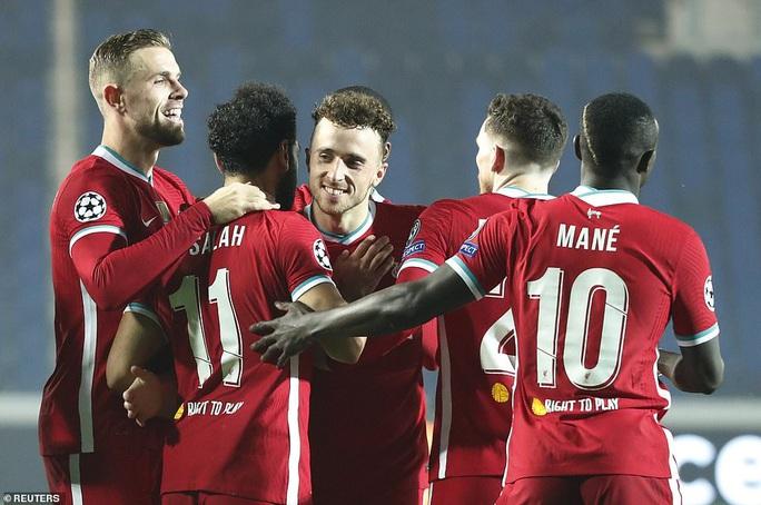 Diogo Jota lập hat-trick, Liverpool đại thắng Atalanta trên đất Ý - Ảnh 4.