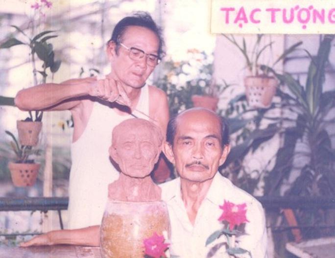 Nhà điêu khắc Tô Sanh qua đời sáng nay - Ảnh 1.