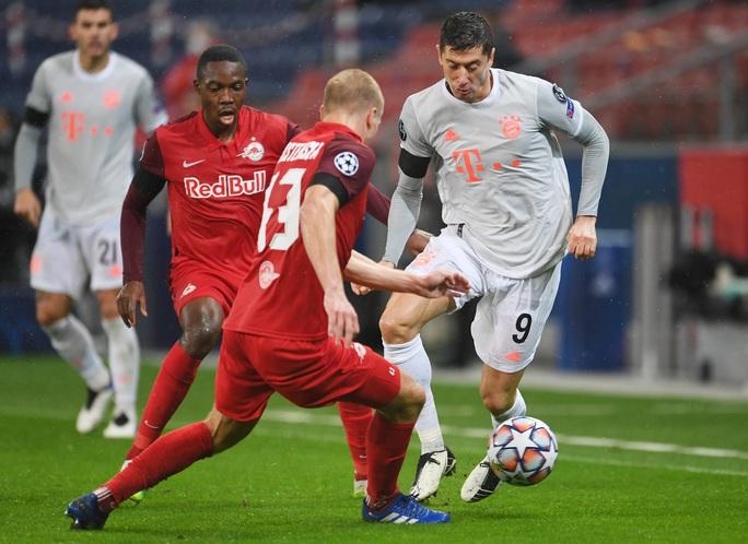 Ông lớn Man City, Bayer Munich khoe sức mạnh, mưa bàn thắng ở Champions League - Ảnh 5.