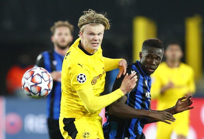 Dortmund thắng to ở Champions League, Haaland lập kỳ tích không tưởng tuổi 20 - Ảnh 2.