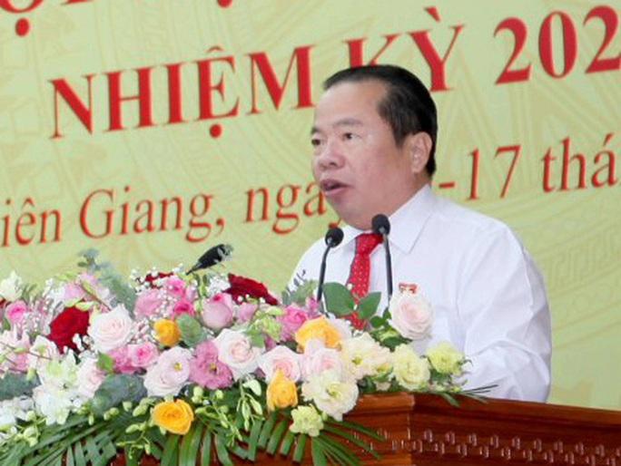 Nguyên Bí thư Huyện ủy Phú Quốc làm Chủ tịch UBND tỉnh Kiên Giang - Ảnh 2.