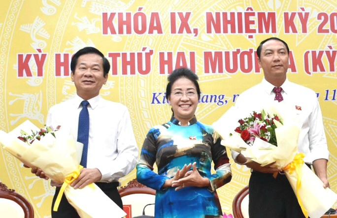 Nguyên Bí thư Huyện ủy Phú Quốc làm Chủ tịch UBND tỉnh Kiên Giang - Ảnh 1.