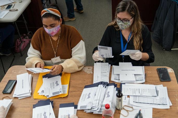 Hàng chục bang của Mỹ không tìm thấy bằng chứng gian lận bầu cử? - Ảnh 3.