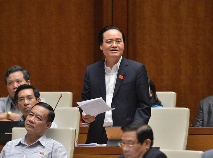 Bộ trưởng Phùng Xuân Nhạ: Tiết kiệm chi, trả lại Chính phủ hàng trăm triệu USD chi phí làm sách giáo khoa - Ảnh 1.