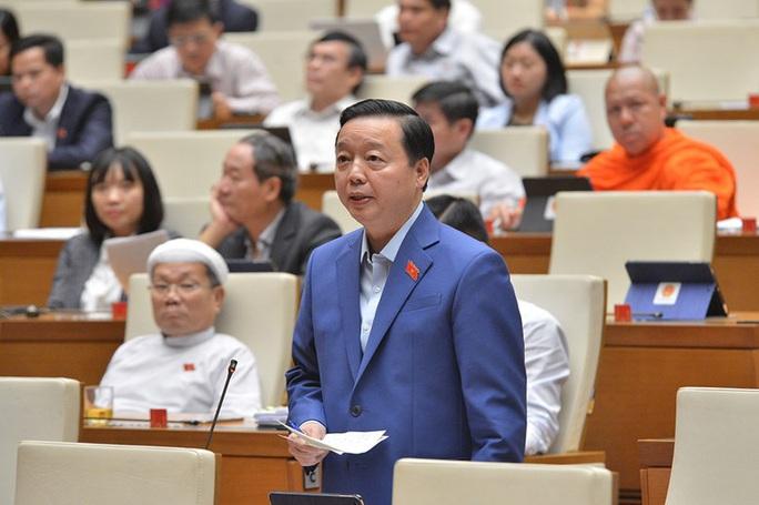 Bộ trưởng Trần Hồng Hà: Tôi nghĩ rừng còn quan trọng hơn trời - Ảnh 2.