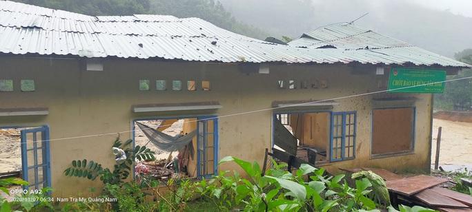 Sạt lở gần như xóa sổ thêm một ngôi làng ở Trà Leng - Ảnh 5.
