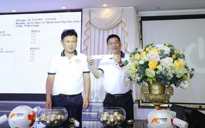 38 đội bóng tranh tài ở Giải Bóng đá Hiệp hội Doanh nghiệp TP HCM - Ảnh 1.