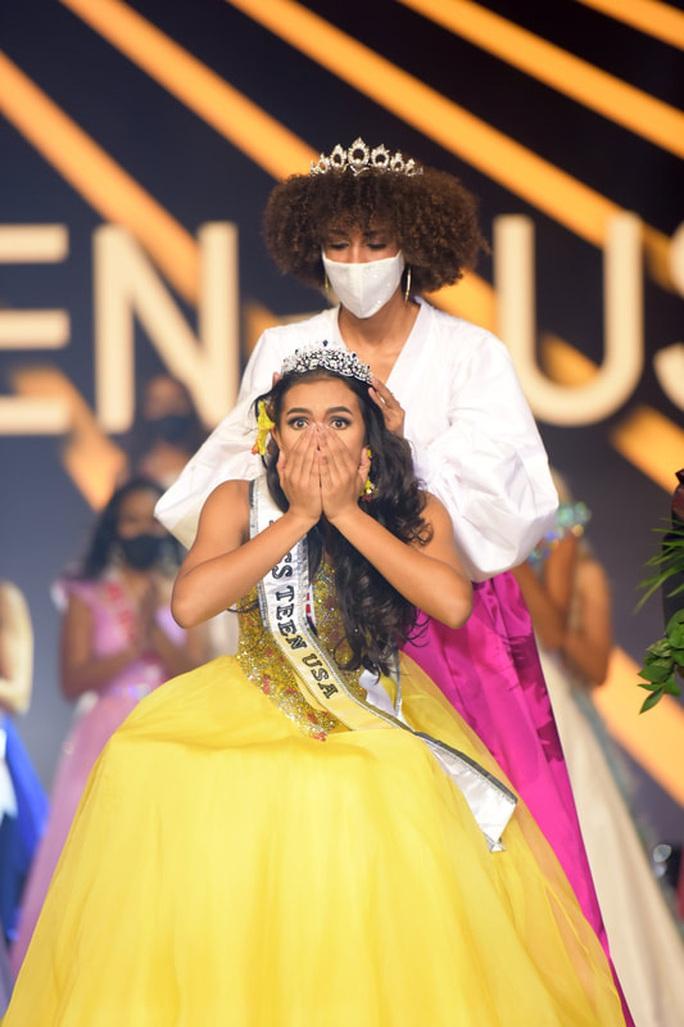 Nhan sắc cô gái đăng quang Hoa hậu Tuổi Teen Mỹ 2020 - Ảnh 1.