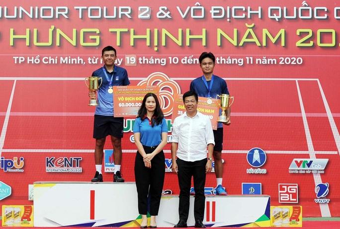 Hoàng Nam giành cú đúp vô địch quần vợt quốc gia - Ảnh 1.