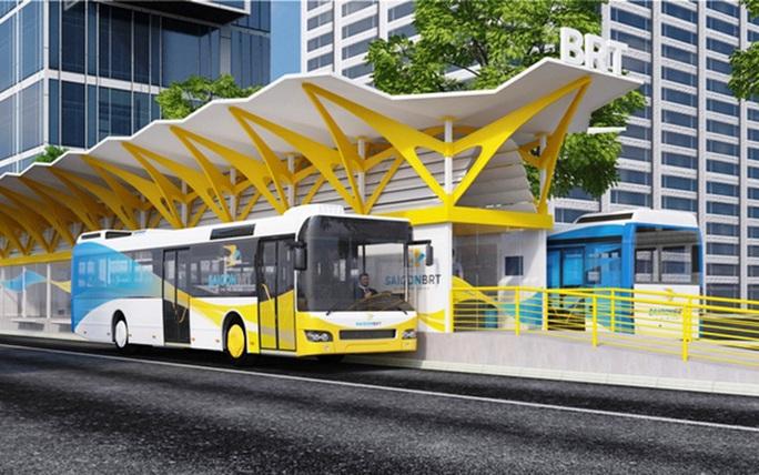 TP HCM khởi động lại tuyến xe buýt nhanh số 1 với vốn đầu tư gần 3.300 tỉ đồng - Ảnh 1.