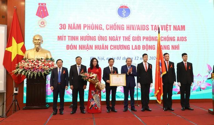 30 năm phòng, chống HIV/AIDS tại Việt Nam - Ảnh 1.