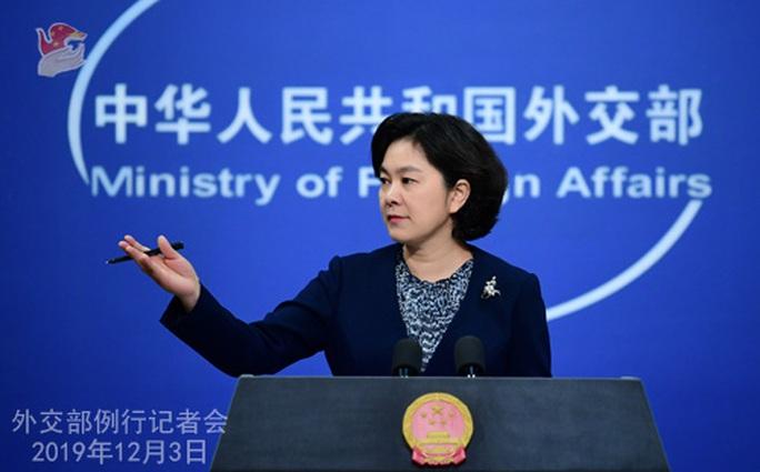 Trung Quốc trừng phạt các nhà ngoại giao Mỹ - Ảnh 1.