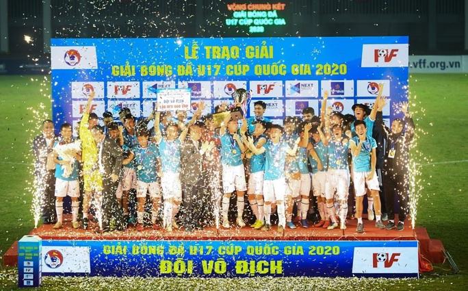 Thắng kịch tính, U17 PVF vô địch Giải U17 Cúp quốc gia 2020 - Ảnh 3.