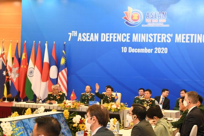 Mỹ, Trung Quốc, Nhật, Úc… cùng ASEAN thống nhất định hướng hợp tác quốc phòng - Ảnh 1.