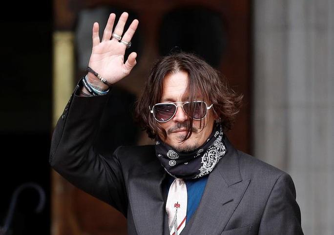 """Johnny Depp kháng cáo vụ kiện """"kẻ đánh vợ"""" - Ảnh 1."""