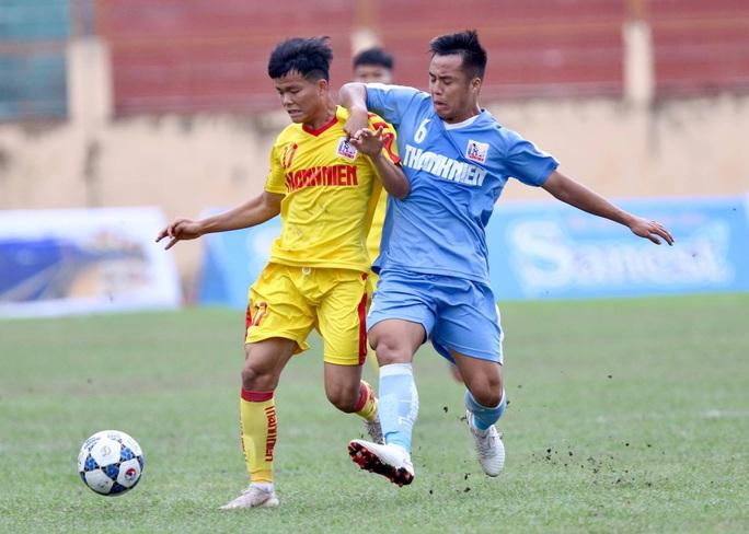 VCK U21 quốc gia 2020: Kịch tính trận chung kết sớm - Ảnh 1.