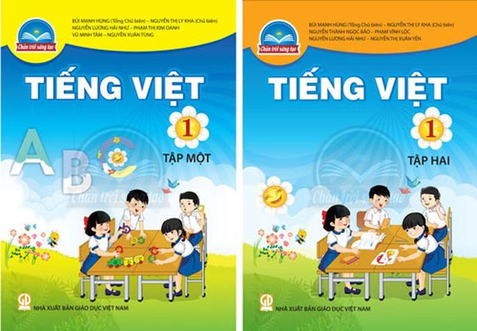 Chỉnh sửa tất cả SGK Tiếng Việt 1 - Ảnh 1.