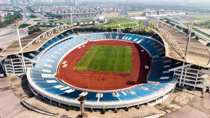CLIP: 150 tỉ đồng đại tu sân Mỹ Đình đón SEA Games 31 - Ảnh 3.