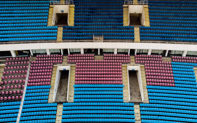 CLIP: 150 tỉ đồng đại tu sân Mỹ Đình đón SEA Games 31 - Ảnh 6.