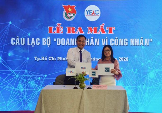 Ra mắt CLB doanh nhân vì công nhân - Ảnh 1.