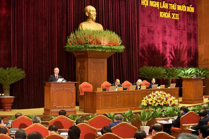 Khai mạc Hội nghị Trung ương 14, giới thiệu nhân sự tham gia Bộ Chính trị, Ban Bí thư khóa XIII - Ảnh 7.