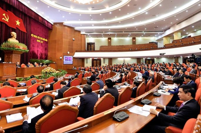 Khai mạc Hội nghị Trung ương 14, giới thiệu nhân sự tham gia Bộ Chính trị, Ban Bí thư khóa XIII - Ảnh 9.