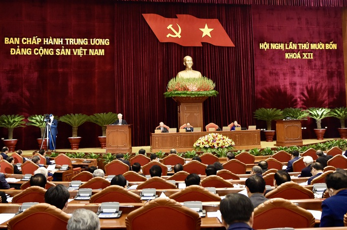 Khai mạc Hội nghị Trung ương 14, giới thiệu nhân sự tham gia Bộ Chính trị, Ban Bí thư khóa XIII - Ảnh 11.
