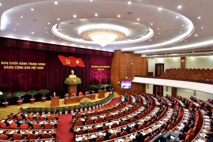 Khai mạc Hội nghị Trung ương 14, giới thiệu nhân sự tham gia Bộ Chính trị, Ban Bí thư khóa XIII - Ảnh 12.
