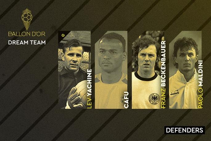 Đội hình trong mơ Quả bóng vàng: Messi và Ronaldo sánh vai huyền thoại - Ảnh 2.