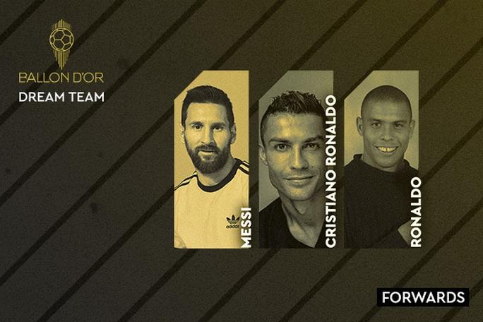 Đội hình trong mơ Quả bóng vàng: Messi và Ronaldo sánh vai huyền thoại - Ảnh 5.