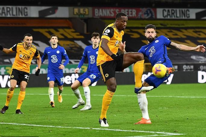 Chelsea trắng tay trước Wolverhampton phút bù giờ, Lampard sốc nặng  - Ảnh 1.