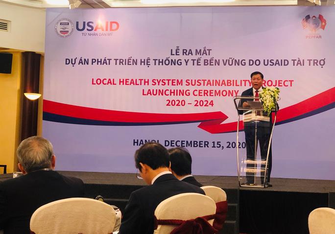 Ra mắt dự án phát triển hệ thống y tế bền vững - Ảnh 1.