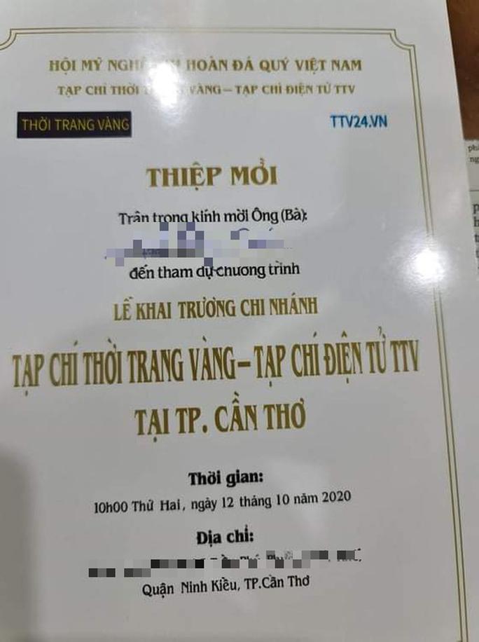 Yêu cầu ngưng hoạt động chi nhánh tạp chí do Trương Châu Hữu Danh phụ trách - Ảnh 1.