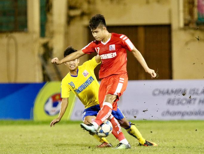 U21 Viettel vất vả thắng Đồng Tháp, vào chung kết Giải U21 quốc gia - Ảnh 2.