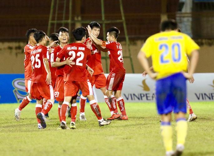 U21 Viettel vất vả thắng Đồng Tháp, vào chung kết Giải U21 quốc gia - Ảnh 4.