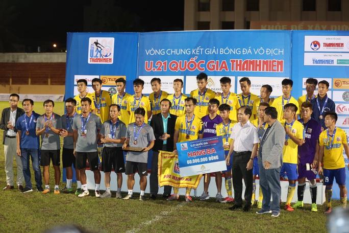 U21 Viettel vất vả thắng Đồng Tháp, vào chung kết Giải U21 quốc gia - Ảnh 5.
